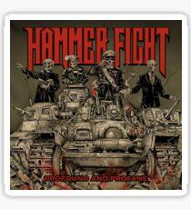 """Profound and Profane"" Album Cover Sticker"