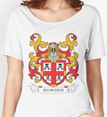 Bowser Coat of Arms Women's Relaxed Fit T-Shirt