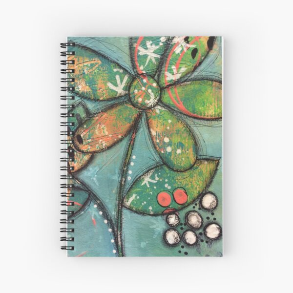 Bloomin' Layers Spiral Notebook