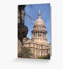Texas Capital  Greeting Card