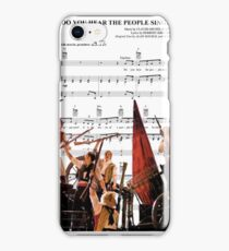 Do You Hear the People Sing - Les Miserables iPhone Case/Skin