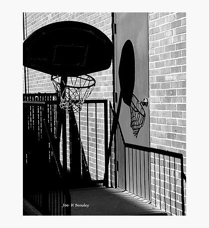 Shadow Goal Photographic Print
