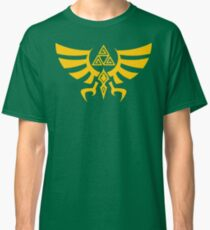 Triskele Triforce - Crest of Hyrule - Legend of Zelda Classic T-Shirt