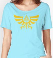 Triskele Triforce - Crest of Hyrule - Legend of Zelda Relaxed Fit T-Shirt
