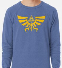Triskele Triforce - Crest of Hyrule - Legend of Zelda Lightweight Sweatshirt