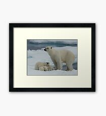 Hey Mum! Framed Print