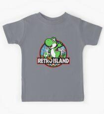 Retro Island Kids Tee