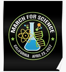 March for Science California Poster
