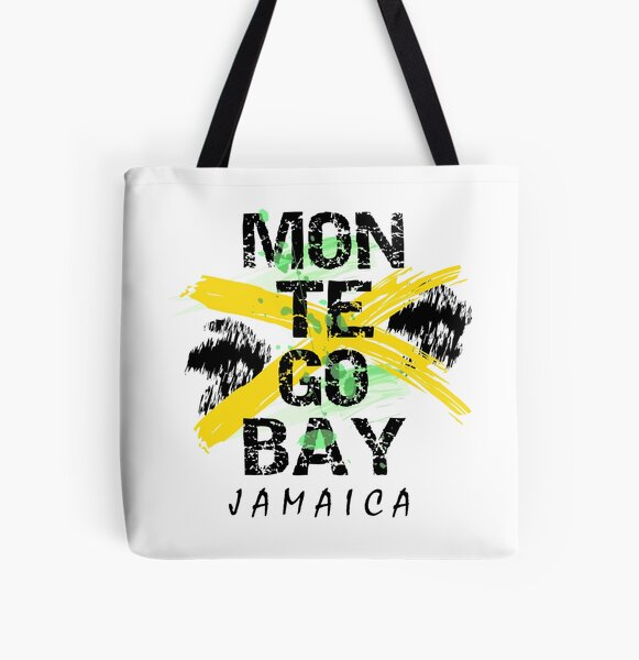 Montego Bay Love All Over Print Tote Bag