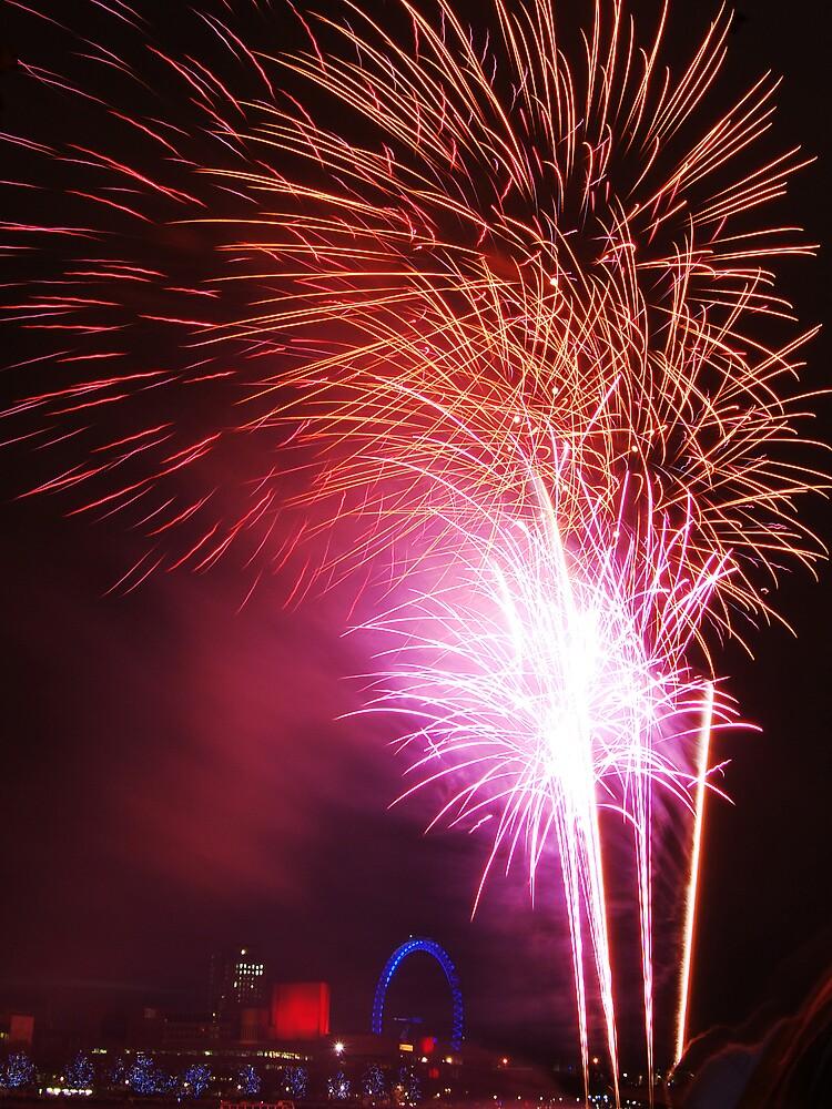 Fireworks by silverfish