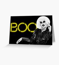 Boo! - Sharon Needles Greeting Card