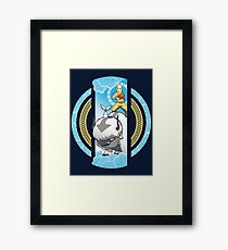 The Element of Freedom Framed Print