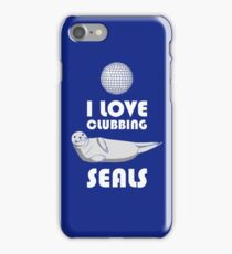 Seal Clubbing iPhone Case/Skin