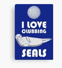 Seal Clubbing Canvas Print