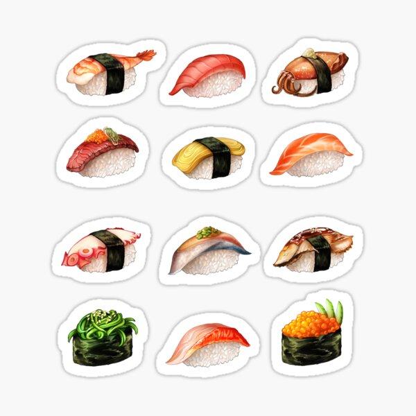 Nigiri, Please - The Sushi Menu You Can Wear! Sticker