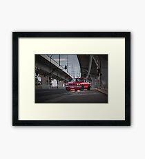 Ash's Hakosuka Skyline - Front Framed Print