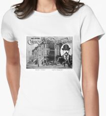 H.H. Holmes Worlds Fair Hotel - The Murder Castle Womens Fitted T-Shirt