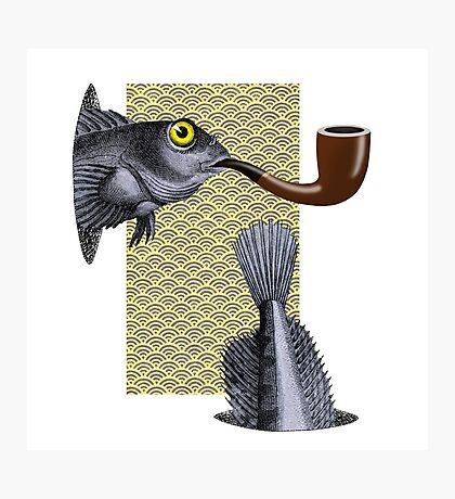 Magritte Fish Photographic Print