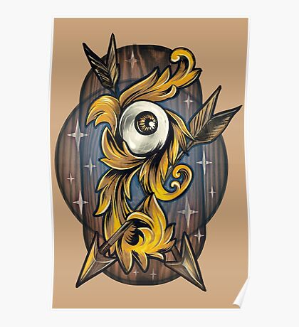 Filigree Eye  Poster