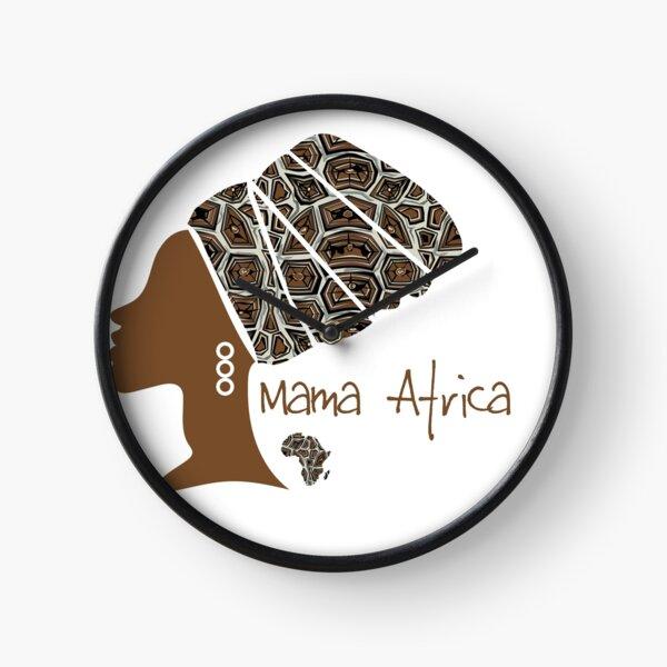 Mama Africa Clock