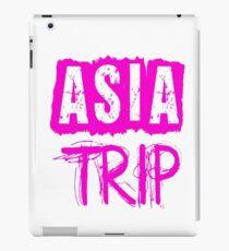 Asia Trip iPad Case/Skin