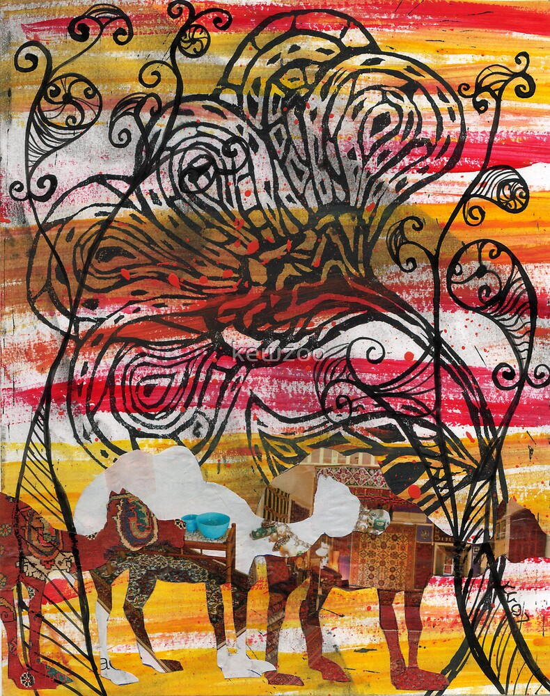 Camel Collage 2 by kewzoo