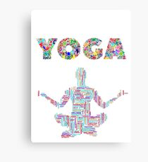 YOGA LOVER Canvas Print