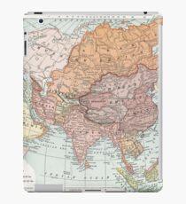 Vintage Map of Asia iPad Case/Skin