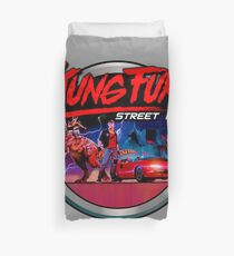 Kung Fury Duvet Cover