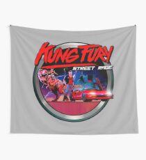 Kung Fury Wall Tapestry
