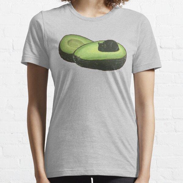 Avocado Cat Essential T-Shirt