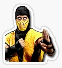Mortal Kombat Sticker Series - Scorpion MK2 Sticker