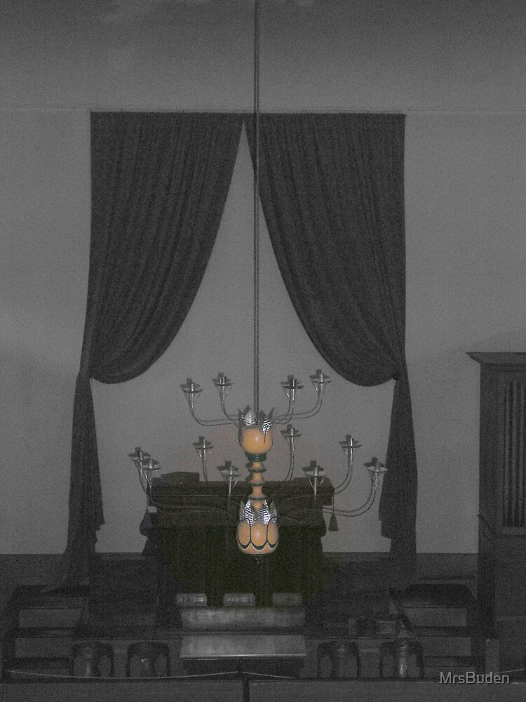 Old Chandelier_selective color by MrsBuden