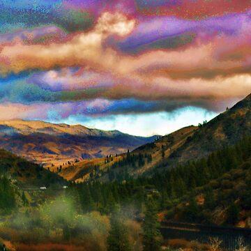 Sierra Sunset by JoeBledsoe