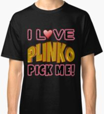 TV Game Show - TPIR (The Price Is...) Plinko Gold Classic T-Shirt
