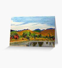 Bragg Creek Pond Greeting Card