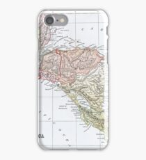 Vintage Map of Central America iPhone Case/Skin