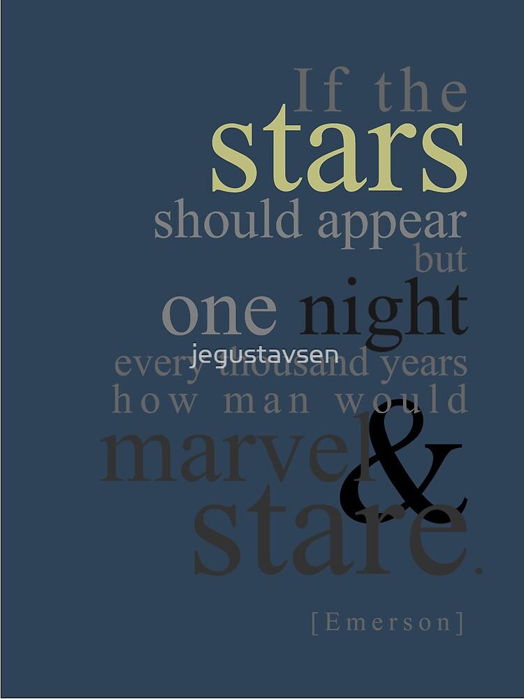The Stars by jegustavsen
