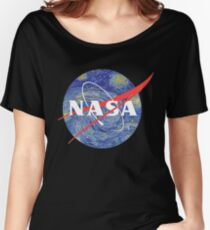 Starry Night NASA Women's Relaxed Fit T-Shirt