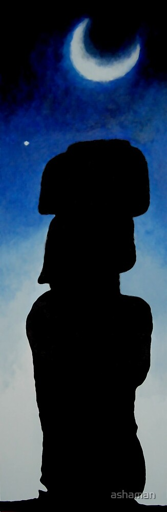 Easter island by ashaman