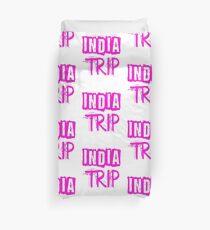 India Trip Duvet Cover
