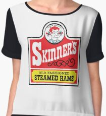 Skinner's Old Fashioned Steamed Hams Chiffon Top