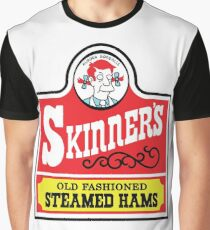 Skinner's Old Fashioned Steamed Hams Graphic T-Shirt