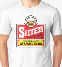 Skinner's Old Fashioned Steamed Hams -Alt Unisex T-Shirt