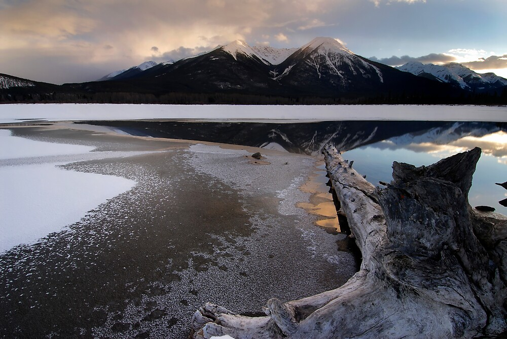 Winter Vermillion by Robert Mullner