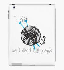 I Knit iPad Case/Skin