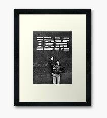 Steve Jobs IBM Framed Print