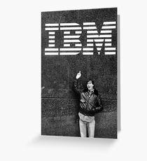 Steve Jobs IBM Greeting Card
