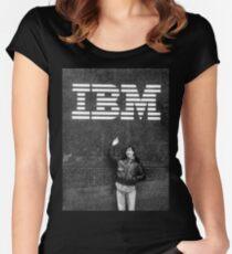Steve Jobs IBM Women's Fitted Scoop T-Shirt