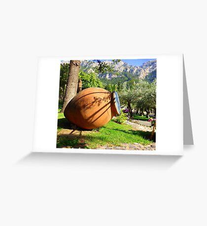 The Terracotta Pot..............................Mallorca Greeting Card